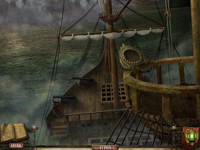 Video for Written Legends: Pesadelo no Mar