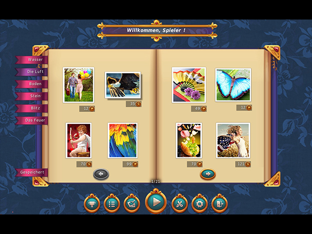 1001 Jigsaw – 6 Magische Elemente screen1