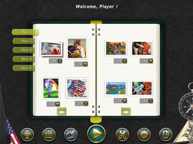 1001 Puzzles: Rund um die Welt-Das grosse Amerika screen2