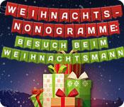 Weihnachts-Nonogramme: Besuch beim Weihnachtsmann