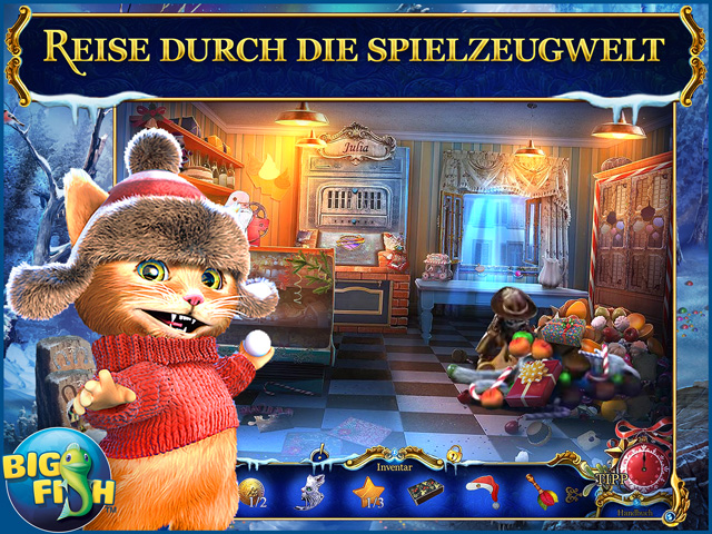 Screenshot für Christmas Stories: Der Gestiefelte Kater Sammleredition