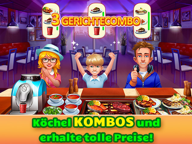 Cooking craze ipad iphone android pc spiel big fish for Big fish cooking games
