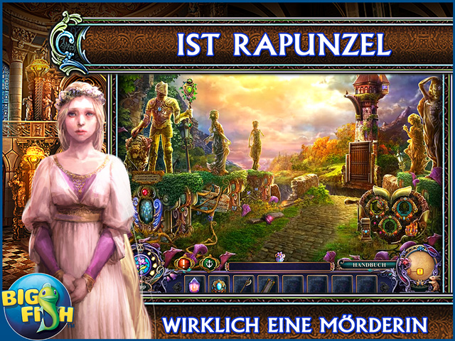 Screenshot für Dark Parables: Rapunzel's Gesang Sammleredition