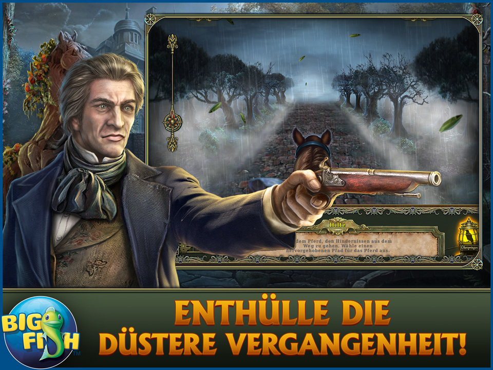 Screenshot für Dark Tales: Edgar Allan Poes Metzengerstein Sammleredition