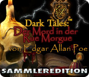 Dark Tales:™ Der Mord in der Rue Morgue von Edgar Allan Poe Sammleredition