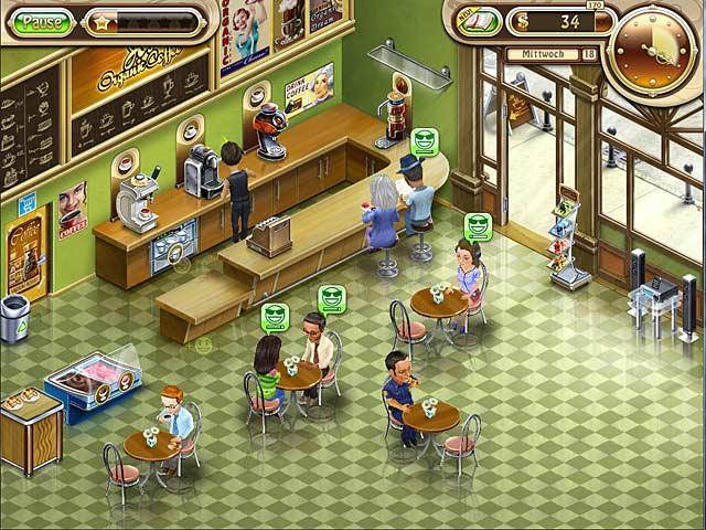 Mein Cafe Spiel