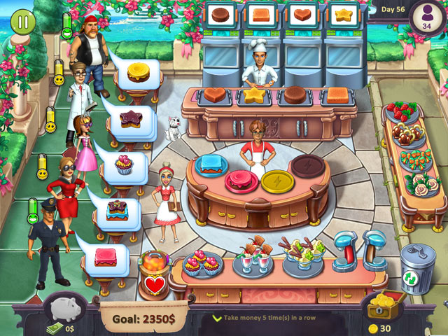 Katy and Bob: Cake Cafe screen1
