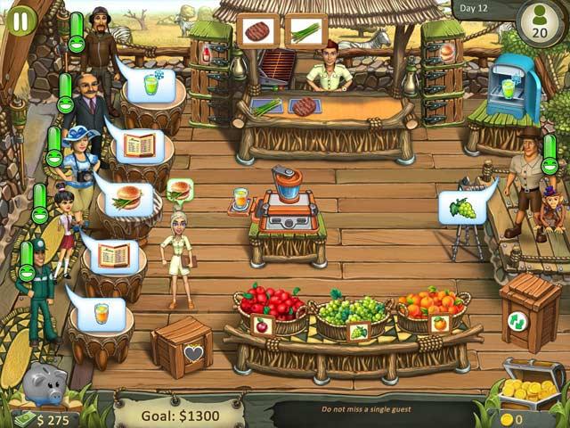 Katy & Bob: Safari Café screen1