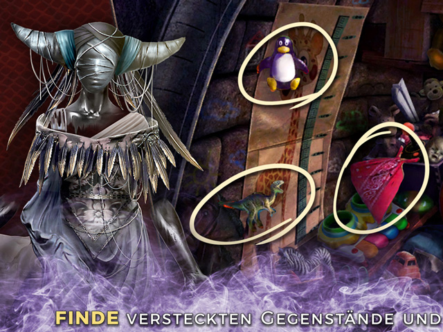 Screenshot für Mystery Case Files: Der schwarze Schleier Sammleredition