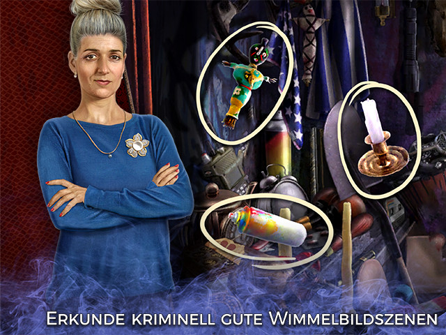 Screenshot für Mystery Case Files: Rache des Wiedergängers Sammleredition