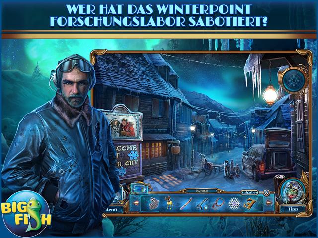 Screenshot für Mystery Trackers: Die Tragödie von Winterpoint Sammleredition
