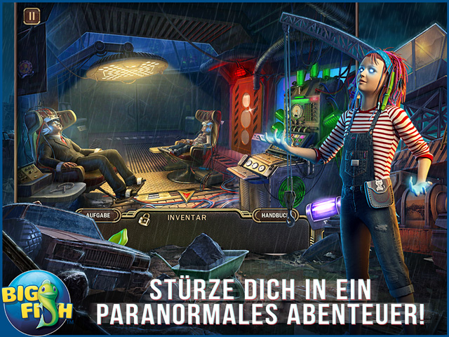 Screenshot für Paranormal Pursuit: Die Gabe Sammleredition