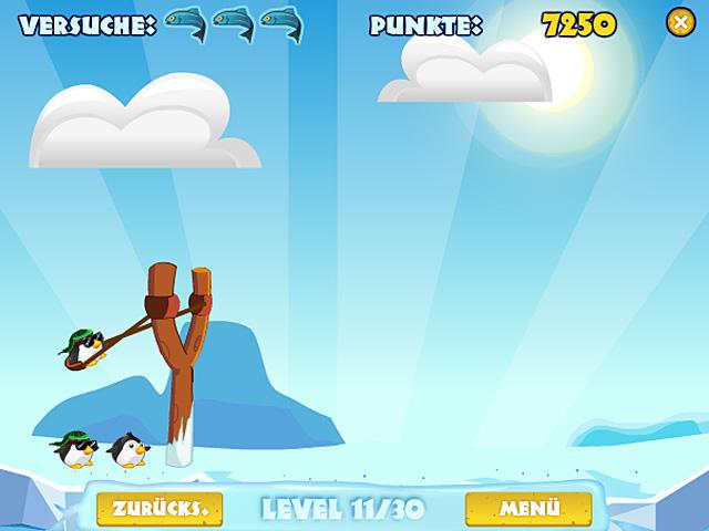 pengu wars angry bird spiel