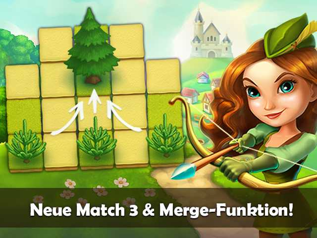 Screenshot für Robin Hood Legends: Puzzle Adventure