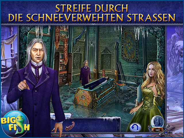 Screenshot für Secret Trails: Gefrorenes Herz Sammleredition