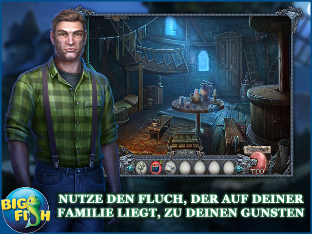 Screenshot für Shadow Wolf Mysteries: Der Fluch von Wolfhill Sammleredition