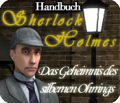 Sherlock Holmes: Das Geheimnis des silbernen Ohrrings Handbuch