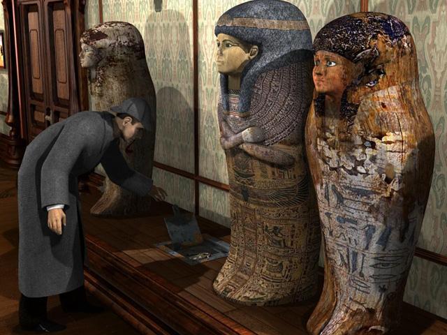 Video für Sherlock Holmes - Das Geheimnis der Mumie