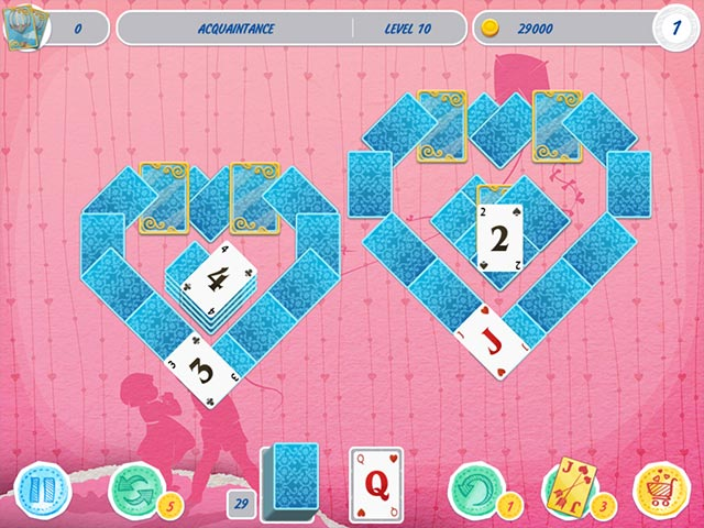solitaire valentinstag 2 ipad iphone android pc spiel big fish. Black Bedroom Furniture Sets. Home Design Ideas