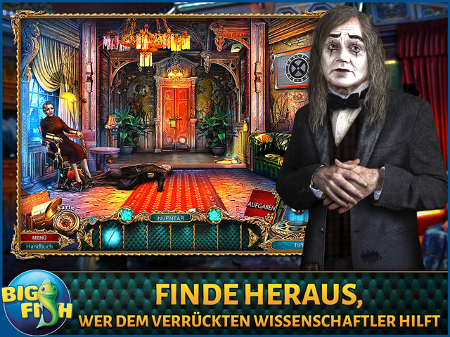 Screenshot für The Curio Society: Die neue Ordnung Sammleredition