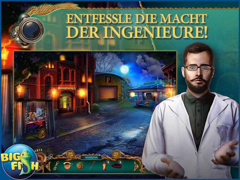 Screenshot für The Curio Society: Zeit der Rache Sammleredition