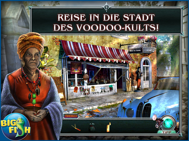 Screenshot für Vampire Legends: Der Graf von New Orleans Sammleredition