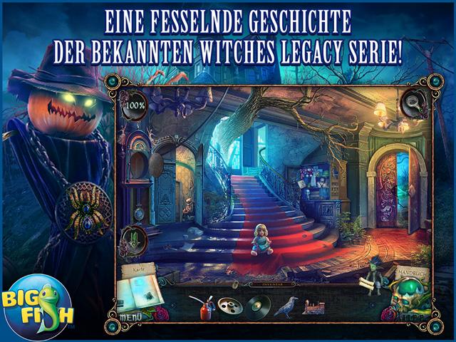 Screenshot für Witches' Legacy: Schatten der Vergangenheit Sammleredition