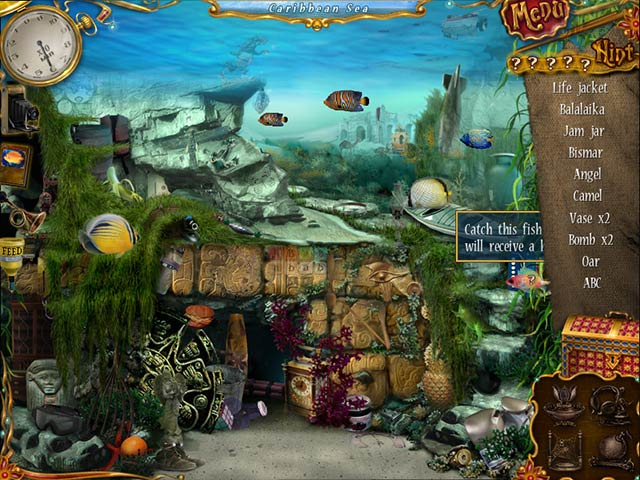10 days under the sea ipad iphone android mac pc for Fish computer game