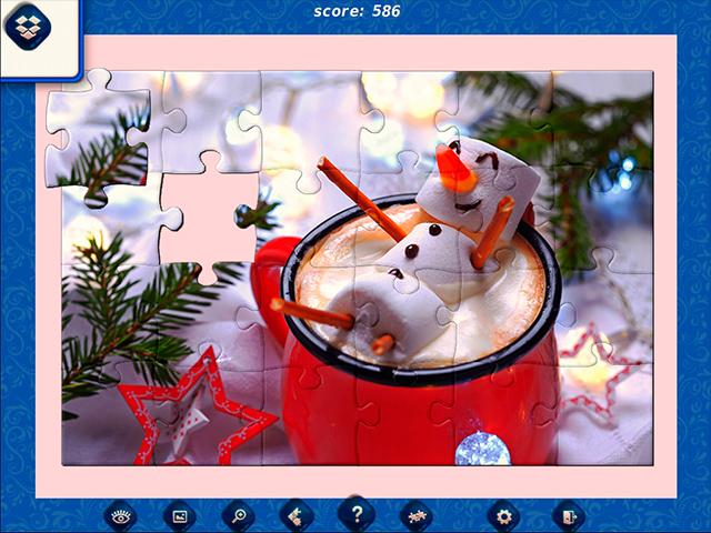 1001 Jigsaw: Ice Age - Screenshot