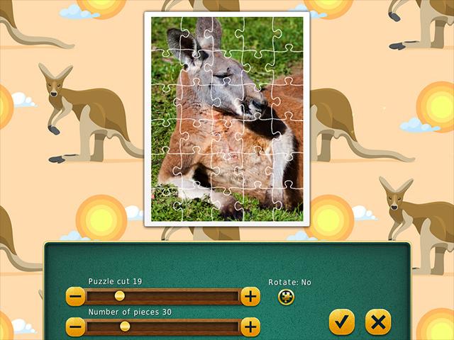 1001 Jigsaw World Tour: Australian Puzzles - Screenshot