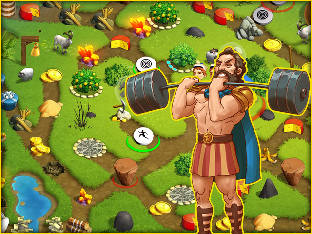 12 Labours of Hercules XI: Painted Adventure - Screenshot 1