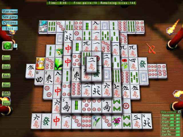 3 D Mahjong