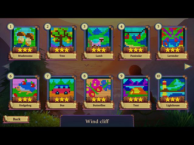 Adventure Mosaics: Forest Spirits - Screenshot