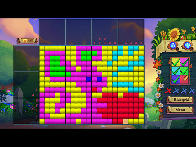 Adventure Mosaics: Granny's Farm - Screenshot
