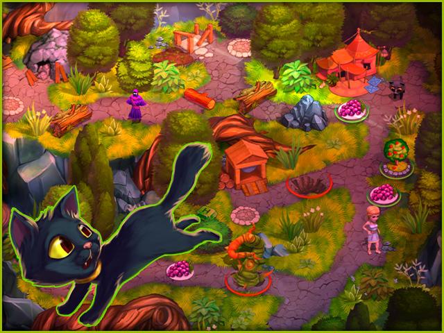 Adventures of Megara: Demeter's Cat-astrophe - Screenshot 1