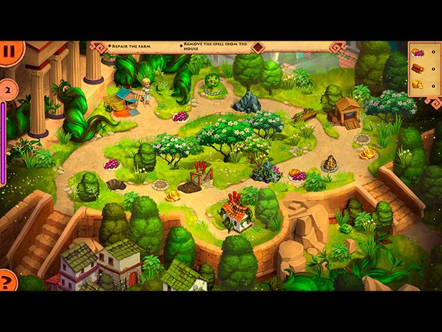 Adventures of Megara: Demeter's Cat-astrophe - Screenshot