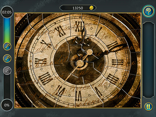 Alice's Jigsaw Time Travel 2 - Screenshot