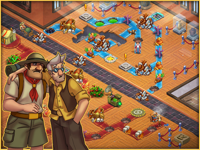 Alicia Quatermain 4: Da Vinci and the Time Machine Collector's Edition - Screenshot