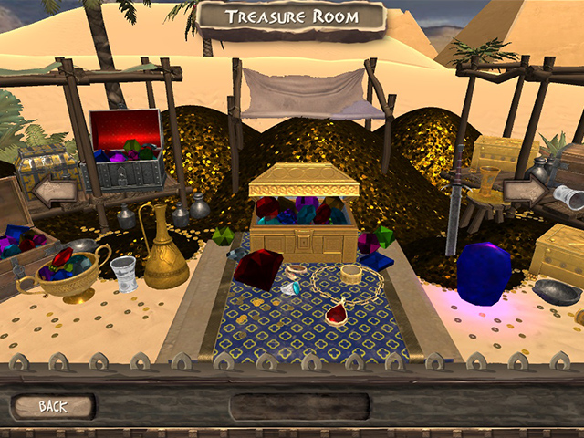 Arabian Treasures: Midnight Match - Screenshot