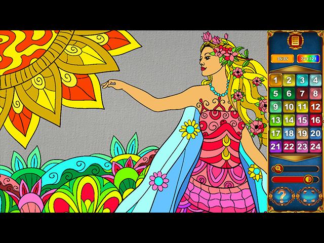 Art By Numbers - Screenshot