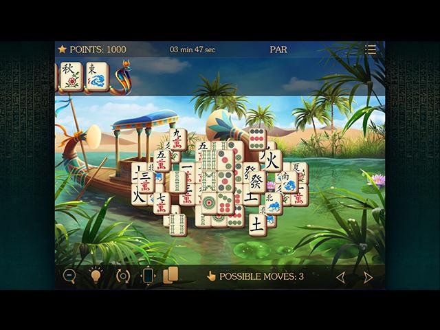 Art Mahjong Egypt: New Worlds - Screenshot