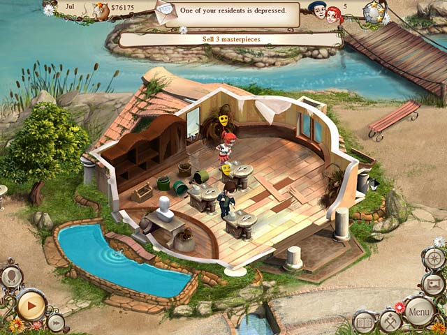 Artist Colony > iPad, iPhone, Android, Mac & PC Game | Big Fish