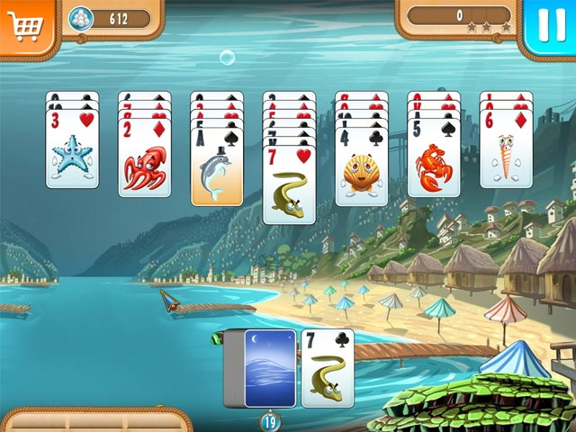 Atlantic quest solitaire ipad iphone android mac for Atlantic game fish