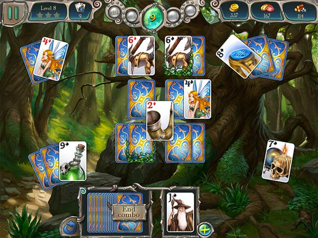 Avalon legends solitaire 2 ipad iphone android mac for Big fish solitaire games