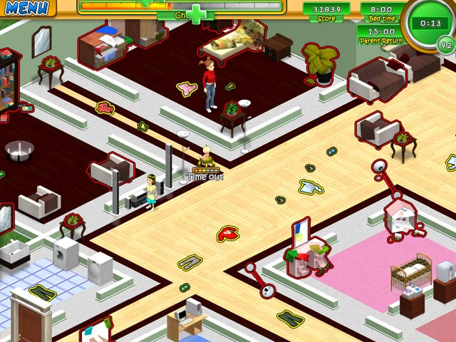 Babysitting mania ipad iphone android mac pc game for Fish mania game