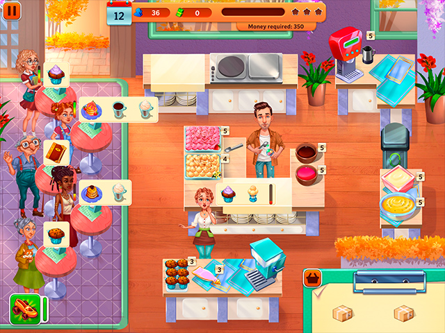 Baking Bustle - Screenshot