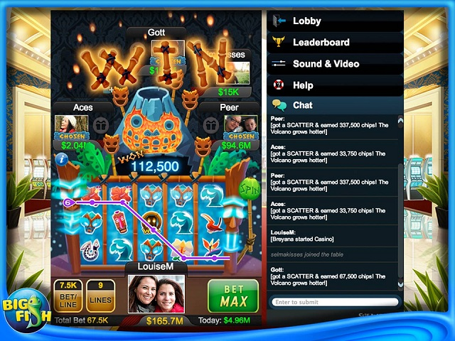 Big fish casino ipad iphone android mac pc game for Big fish games for android