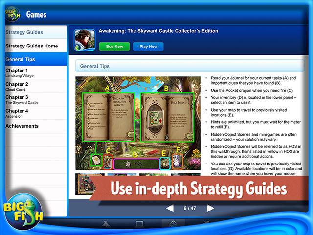 Big Fish Games App > iPad, iPhone, Android, Mac & PC Game | Big Fish