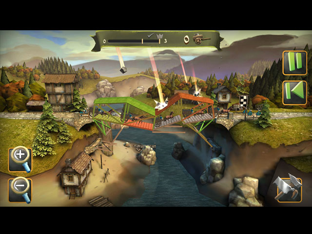 Bridge constructor medieval ipad iphone android mac for Big fish games mac