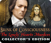software hidden object mystery software casual games  Brink of Consciousness: The Lonely Hearts Murders Collectors Edition